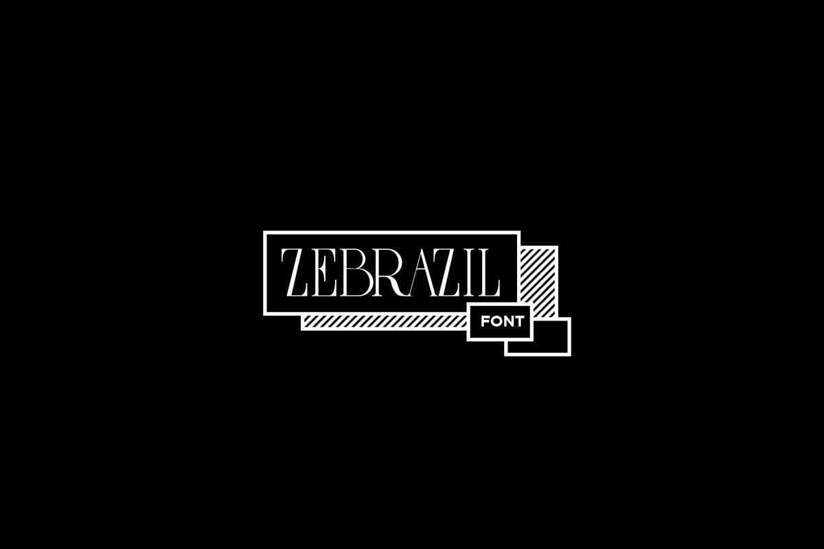 Free Zebrazil Serif Font