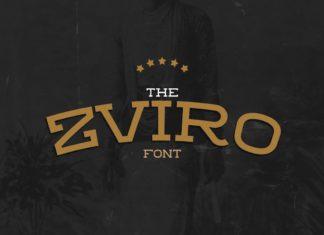 Free Zviro Slab Serif Font