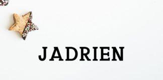 Free Jadrien Serif Font