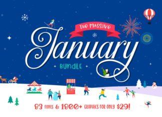 The Massive January Bundle