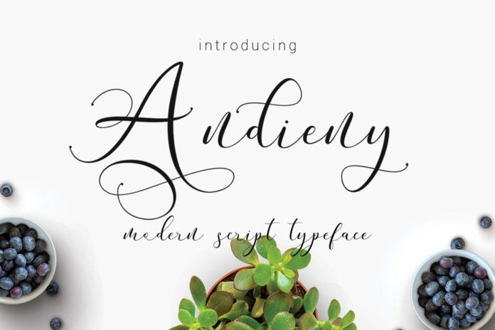 Free Andieny Script Font