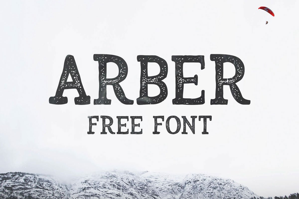 Free Arber Brush Font