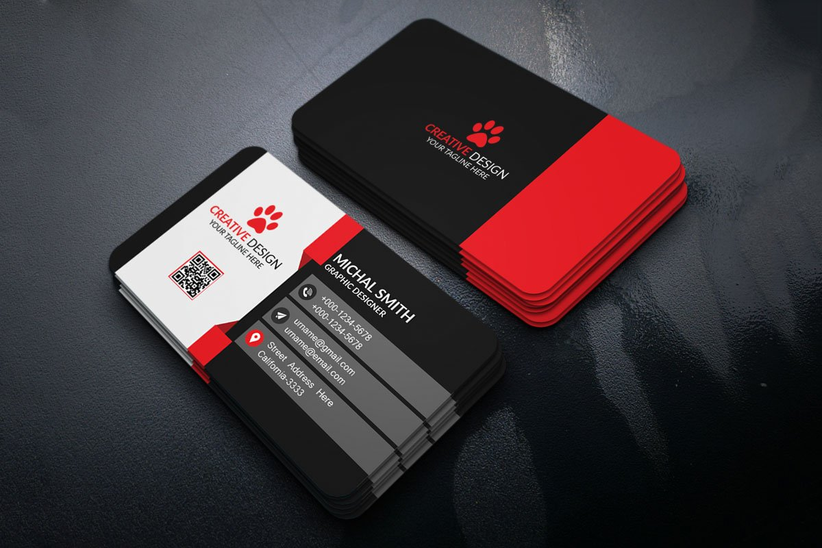 Free creatives business card template creativetacos free creatives business card template fbccfo Images