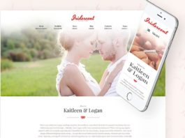 Iridescent Marriage Wedding WordPress Theme