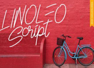 Free Linoleo Script Font