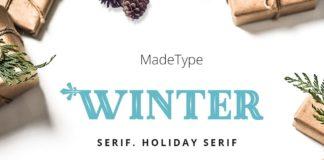 Free MADE Winter Serif Font Family