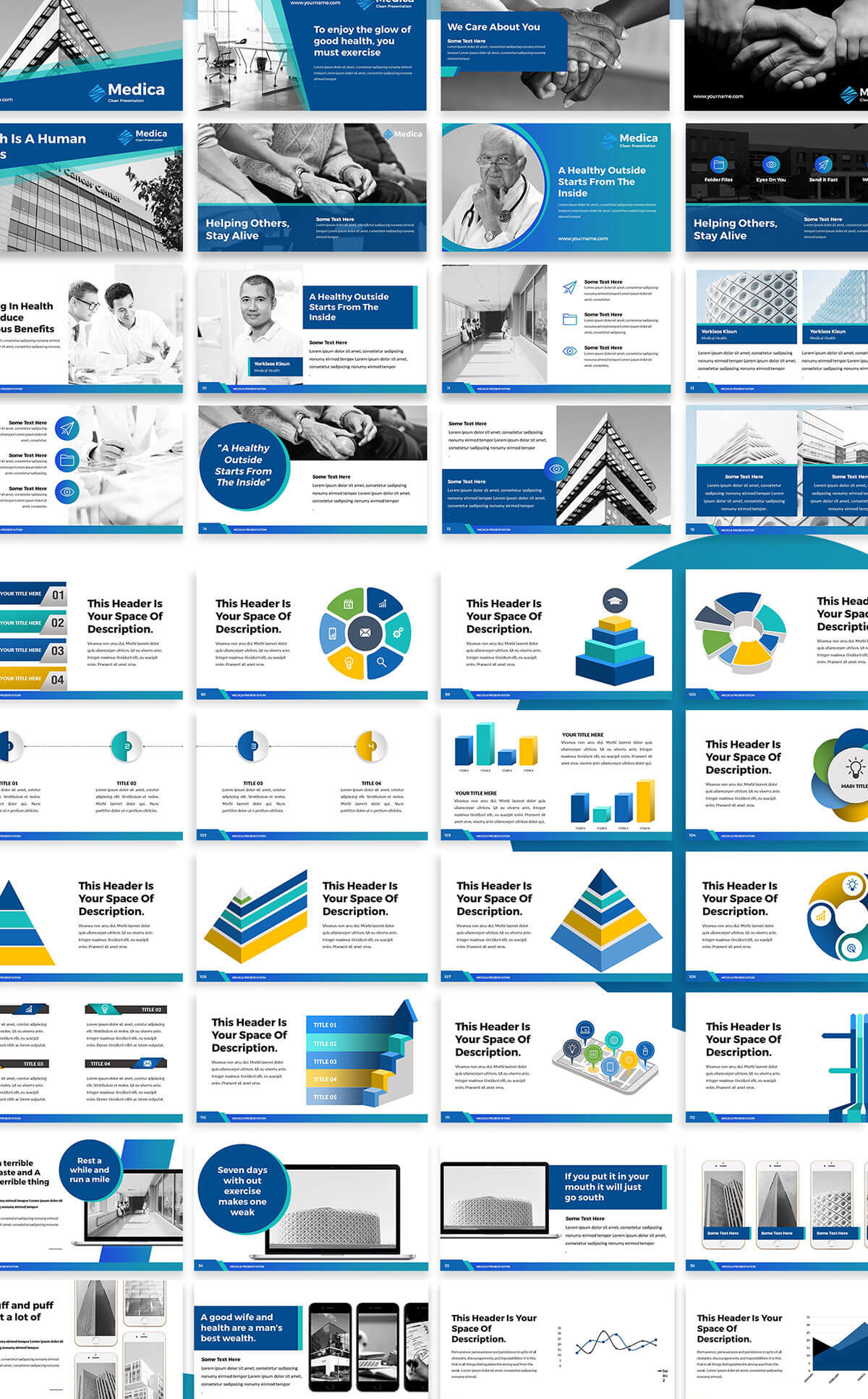 Free Medica Powerpoint Template