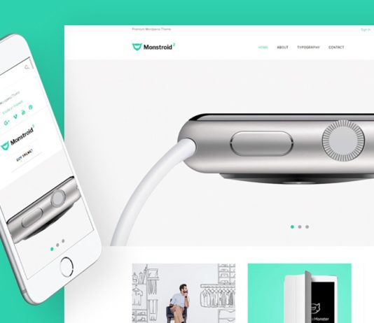 Free Monstroid2 Light Multipurpose Website Template