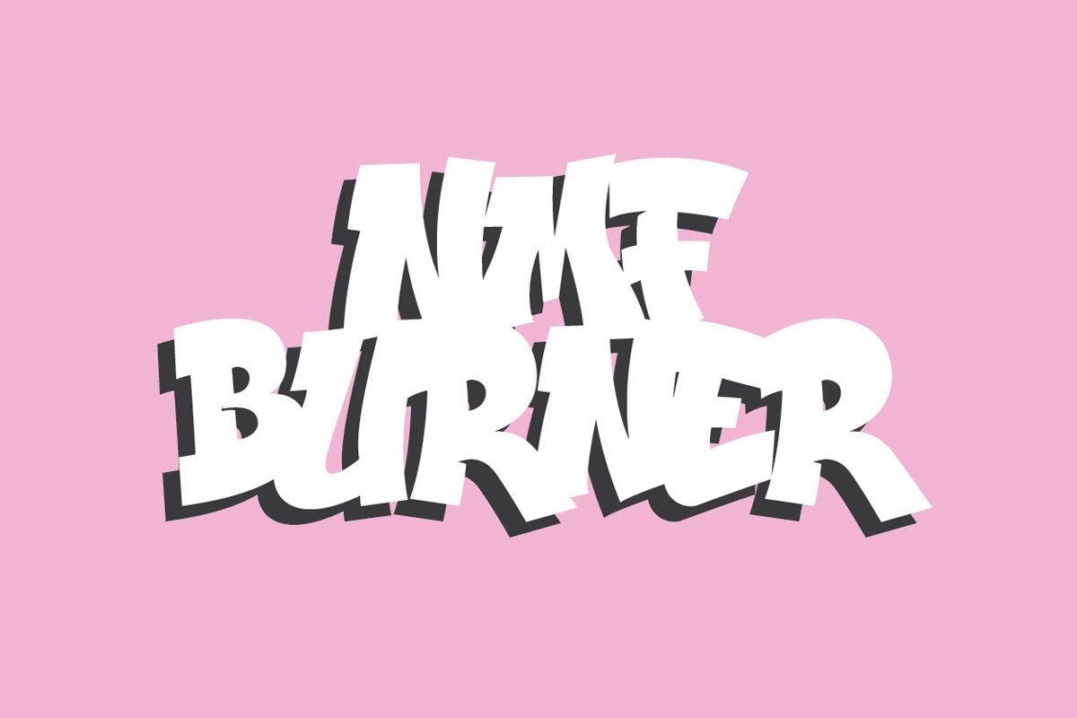 Free nmf burner script font creativetacos