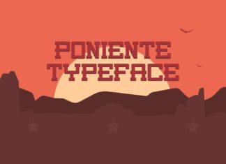 Free Poniente Slab Serif Font
