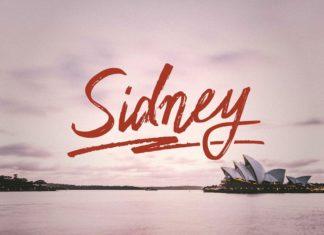 Free Sidney Script Font