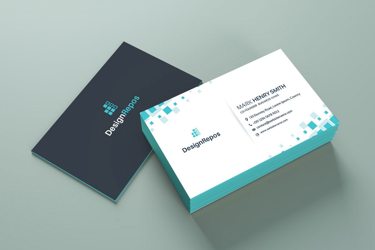 Free simple business card mockup creativetacos free simple business card mockup reheart