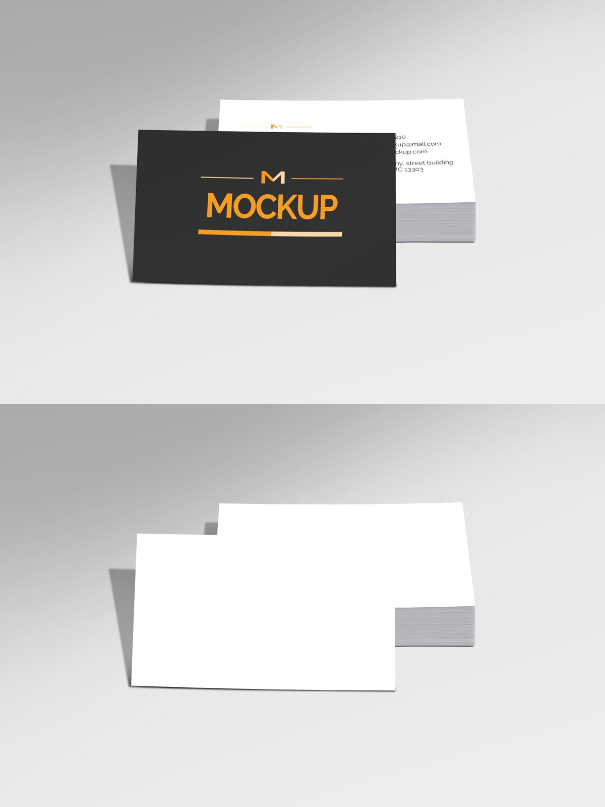 Free Style Business Card Mockup