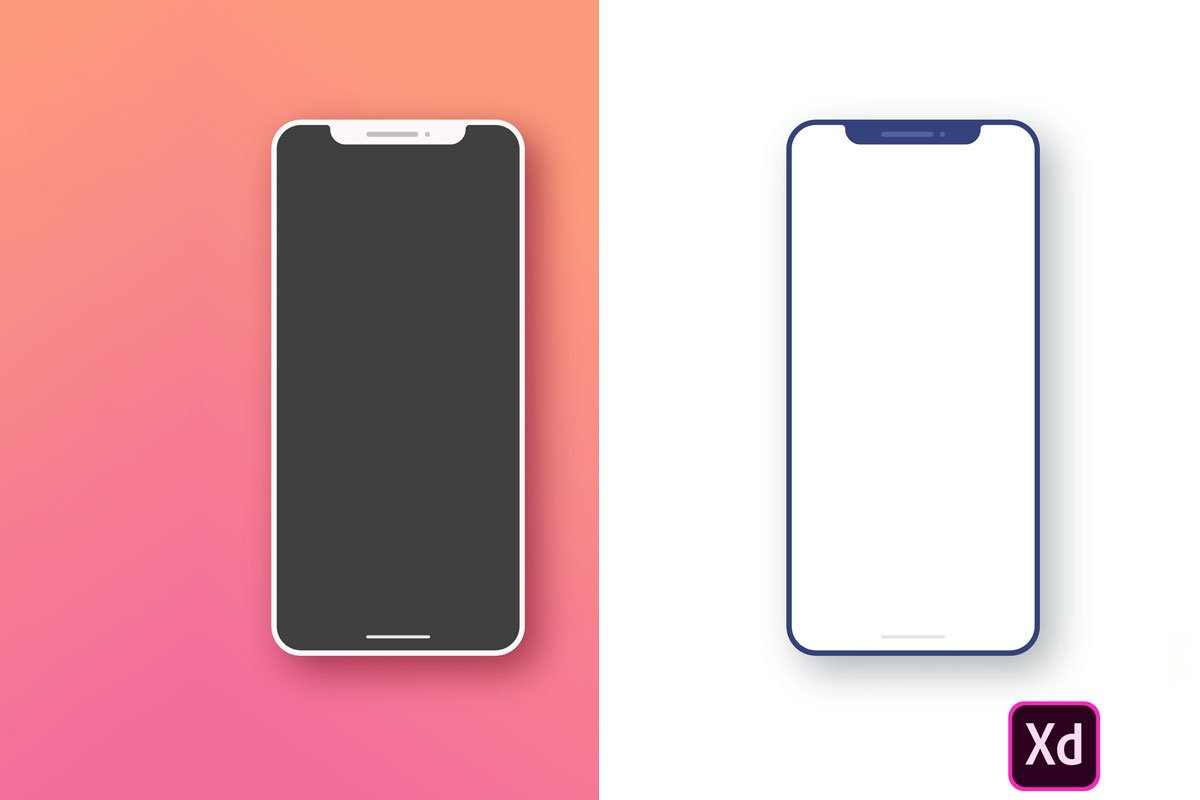 Iphone X Free Xd Mockup Creativetacos