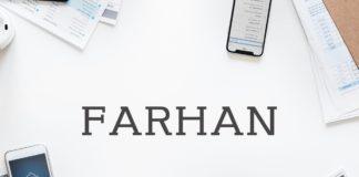 Farhan Free Slab Serif Font