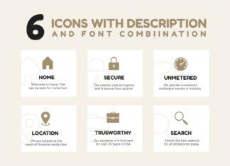 6 Free Description Icons