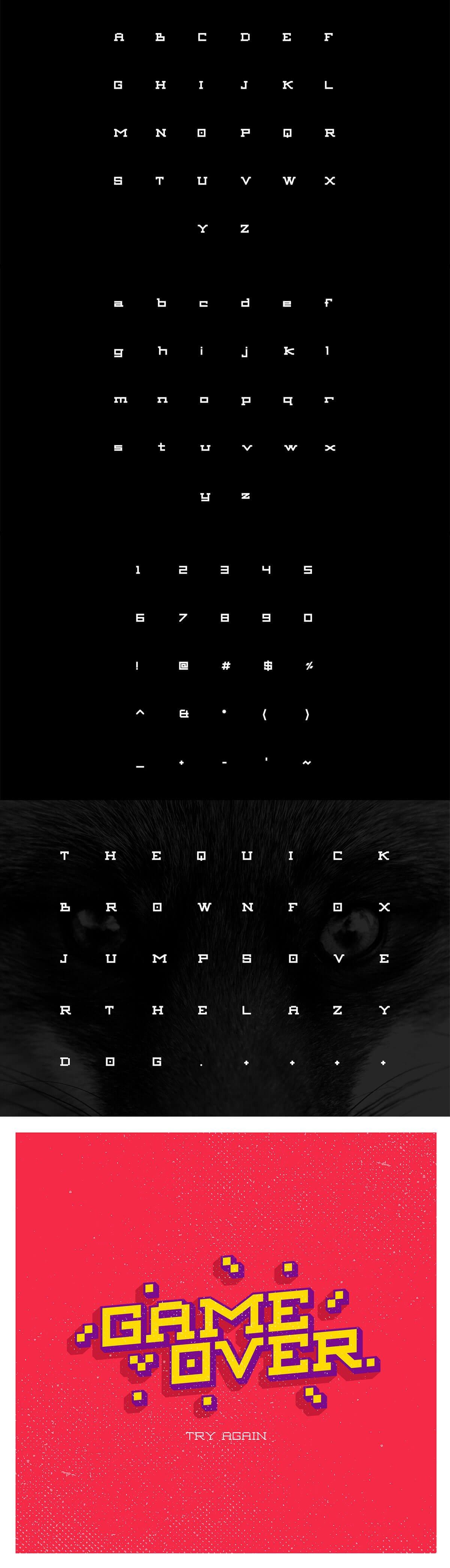 Free Aexkon Slab Serif Typeface