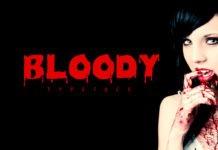 Free Bloody Decorative Font