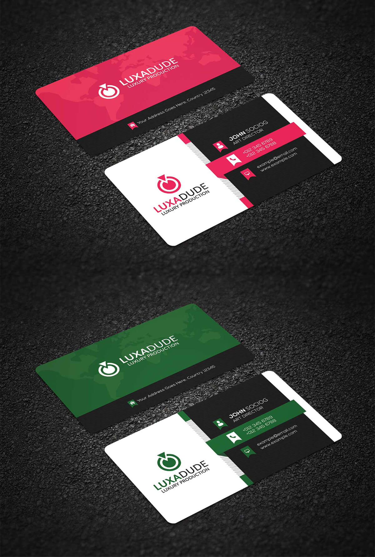 Free corporate business card psd template creativetacos free corporate business card psd template wajeb Gallery