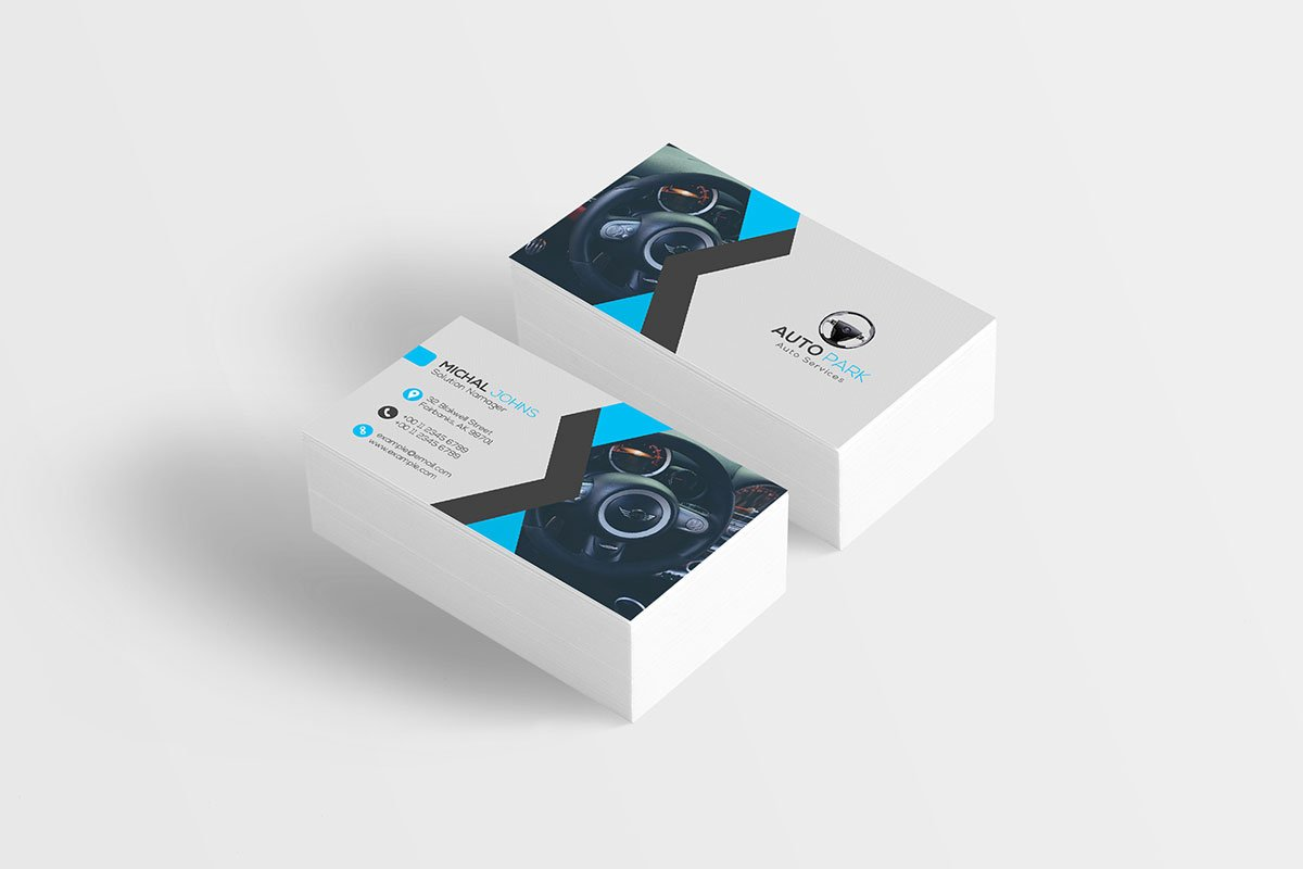 Free Creative Corporate Business Card