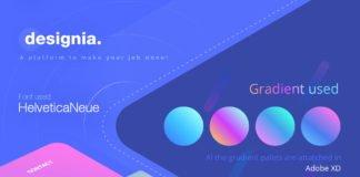 Free Designia Agency Landing Page