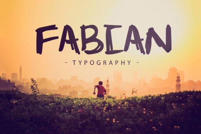 Free Fabian Brush Font