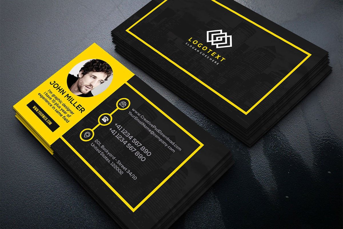 Free Graphic Designer Business Card - Creativetacos