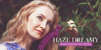 Free Haze Dreamy Photoshop Actions