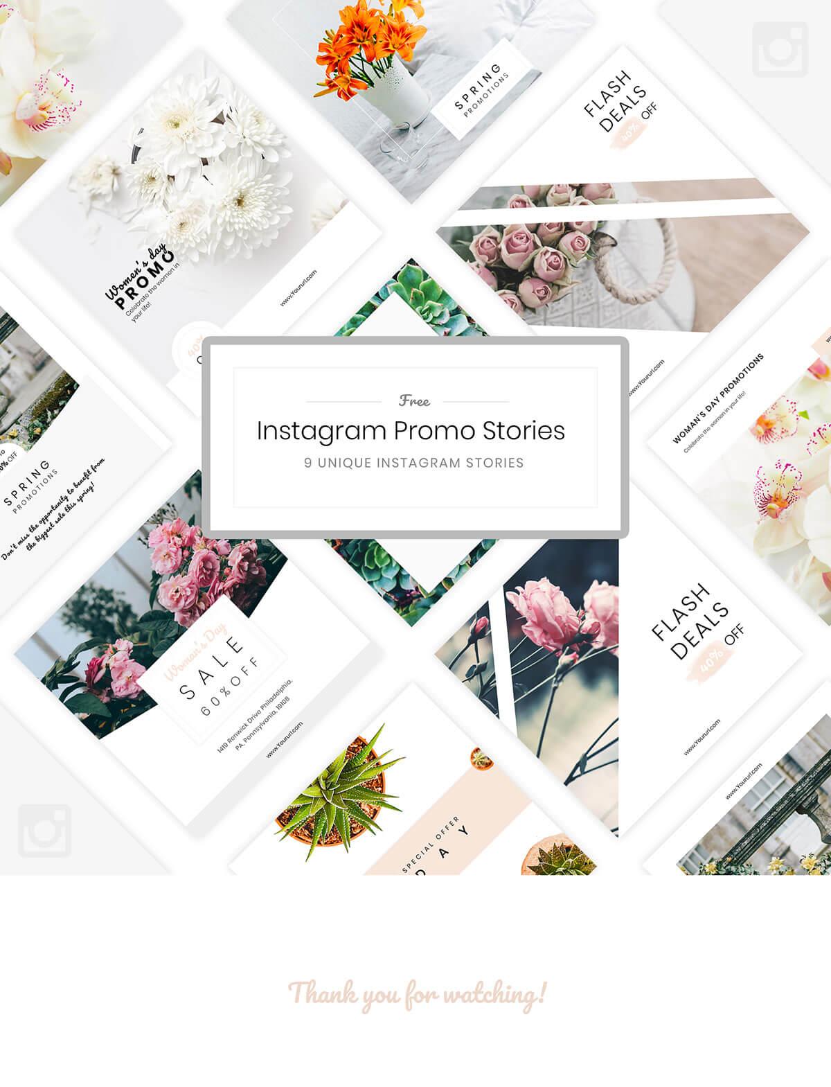Free Instagram Promo Stories
