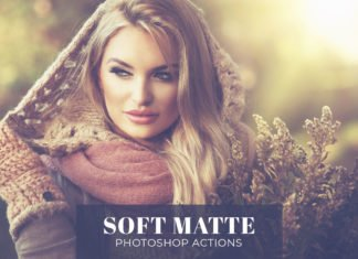 Free Soft Matte Photoshop Actions