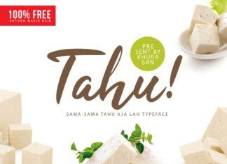 Free Tahu Script Font
