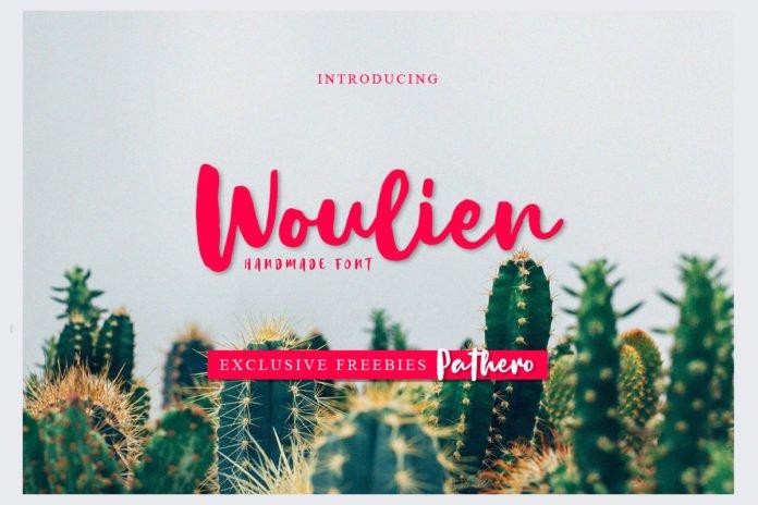 Free Woulien Script Font