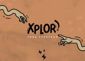 Free Xplor Brush Font