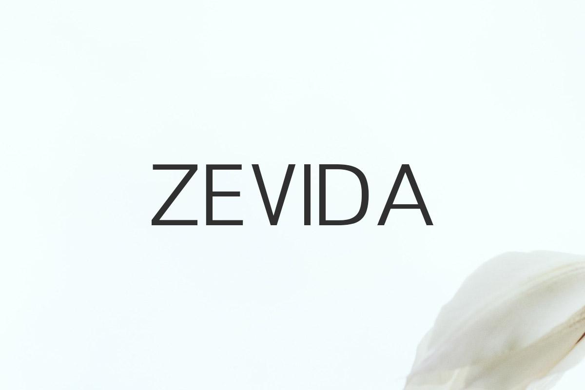 Free Zevida Sans Serif Font