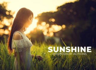 3 Free Sunshine Photoshop Actions
