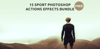 15 Free Sport Photoshop Actions Effects Bundle