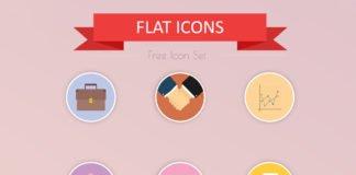 24 Free Flat Icon Set