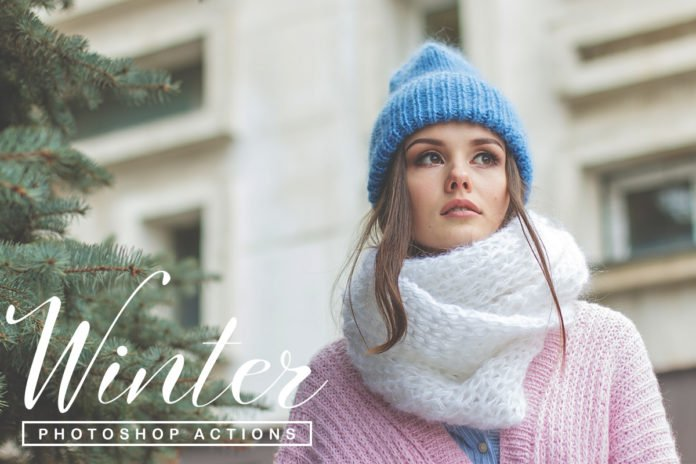 50 Free Winter Season Photoshop Actions