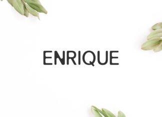 Free Enrique Sans Serif Font