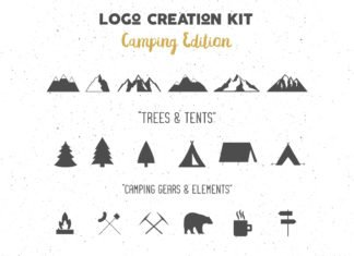 Free Adventure Logo Creator Pack