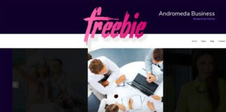Free Andromeda Business Template