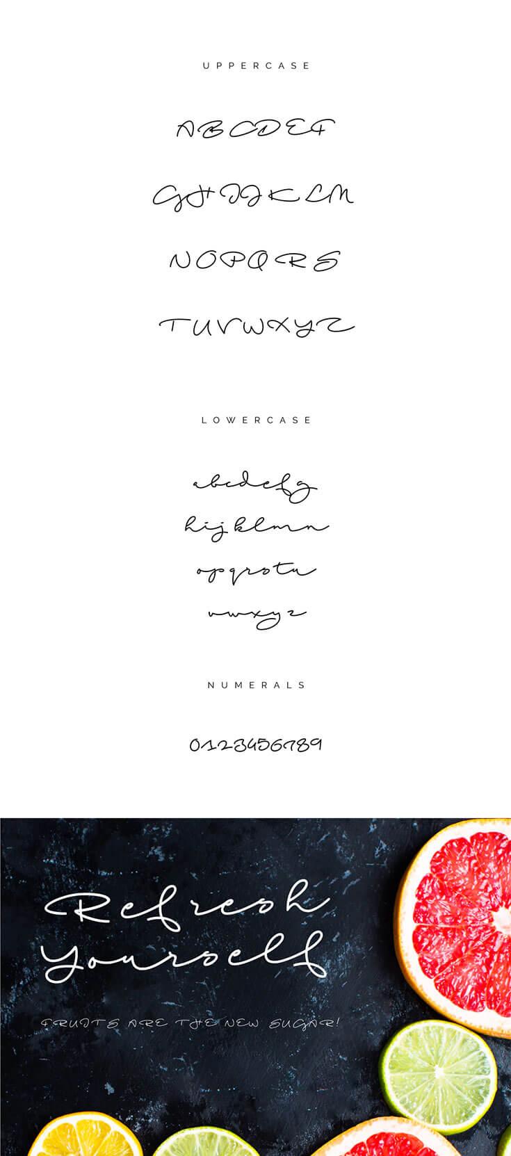 Free Beach Script Handwritten Font