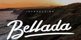 Free Bellada Script Font