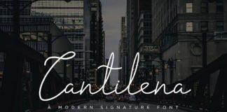 Free Cantilena Signature Font