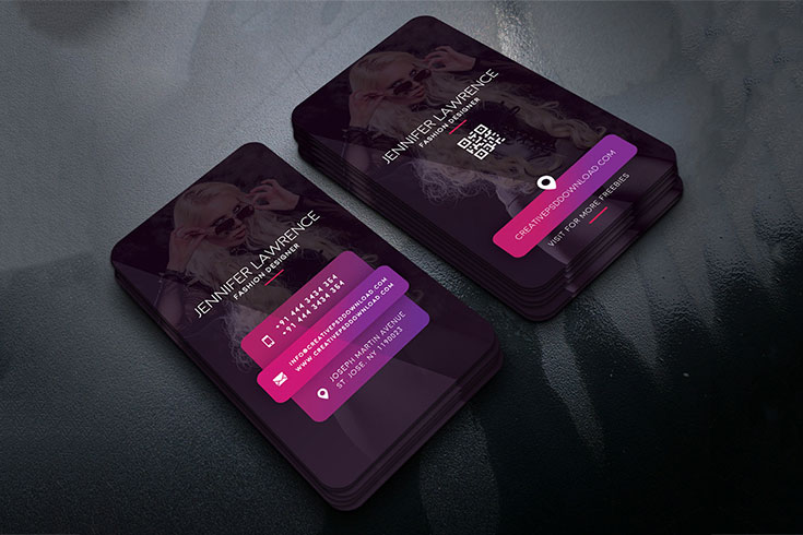 Free fashion designer business card psd creativetacos free fashion designer business card psd templates is a creative business card template reheart Image collections