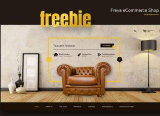 Free Freya eCommerce Template