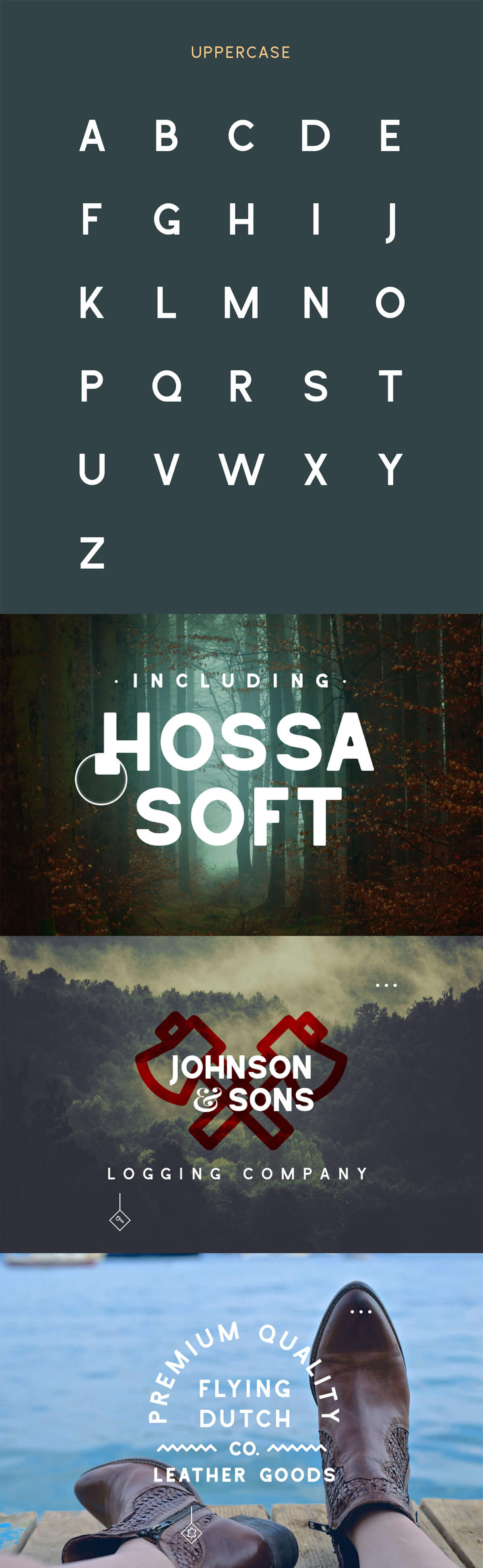 Free Hossa Sans Serif Font Family