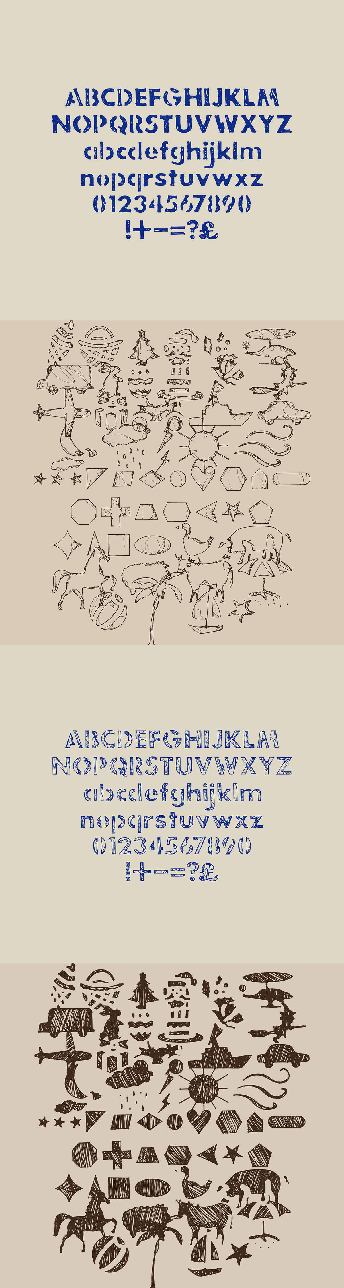 Free Jakes Stencil Font Family