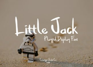 Free Little Jack Display Font