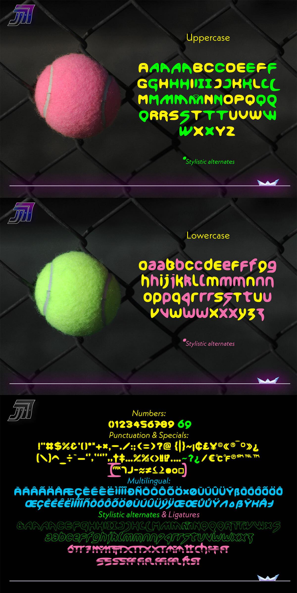 Free Smoothdron Display Font